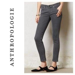 ✨ Anthropologie Grey Slim Straight Pants